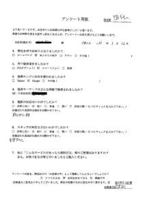 新潟市内で、家具家電回収処分のご依頼 お客様の声