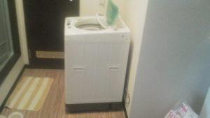 新潟市内で、洗濯機回収処分のご依頼1