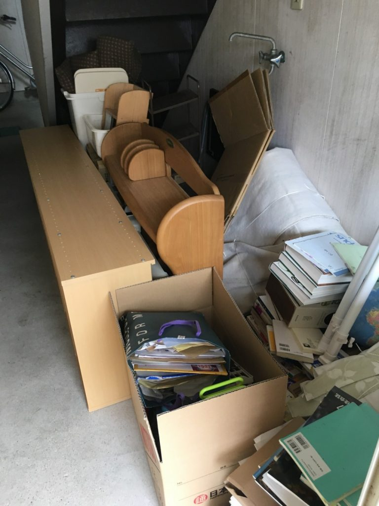 【新発田市】遺品整理に伴い軽トラック1台程度の不用品回収処分 お客様の声