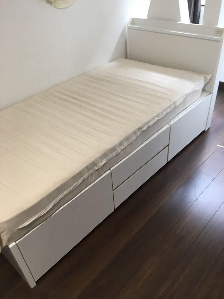 【十日町市】ベッドの出張不用品回収・処分ご依頼 お客様の声