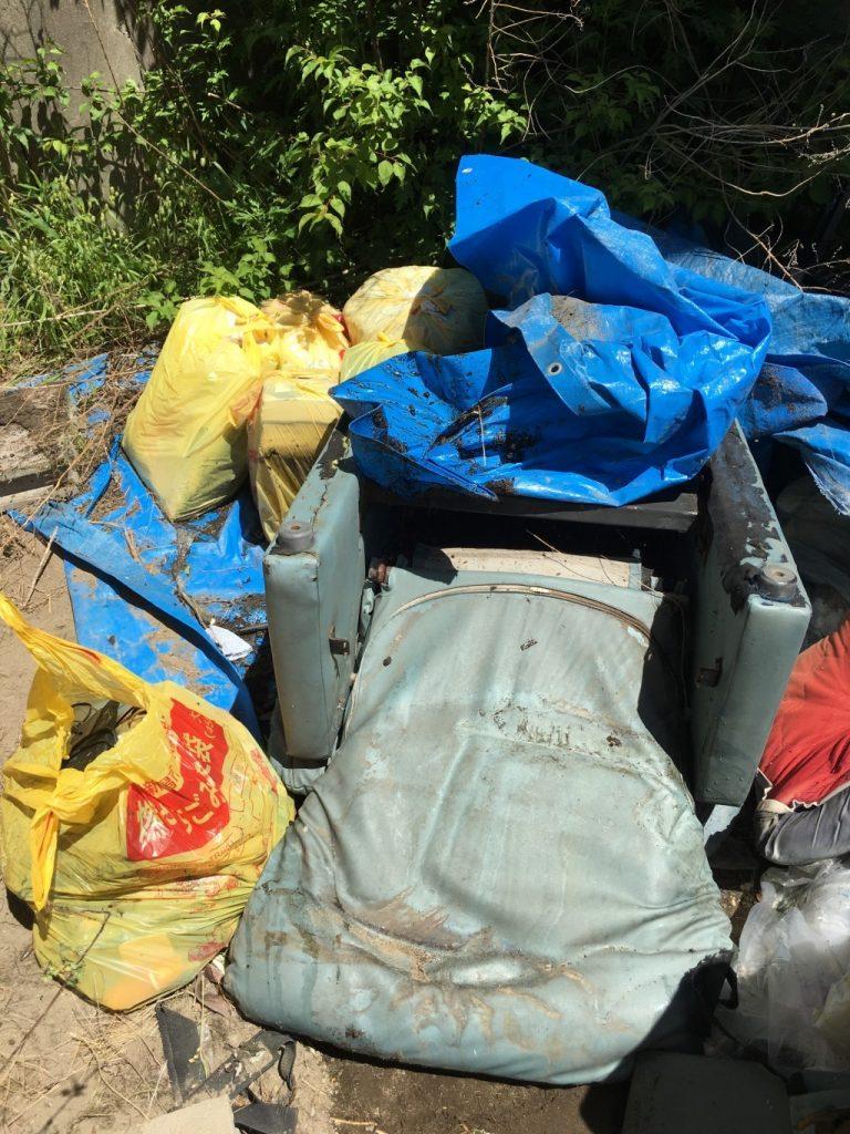 【阿賀野市】外に置いてある不用ごみ回収・処分ご依頼 お客様の声