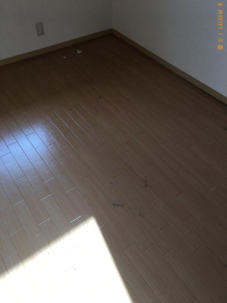 【新潟市中央区】セミダブルベッドの枠の回収・処分ご依頼