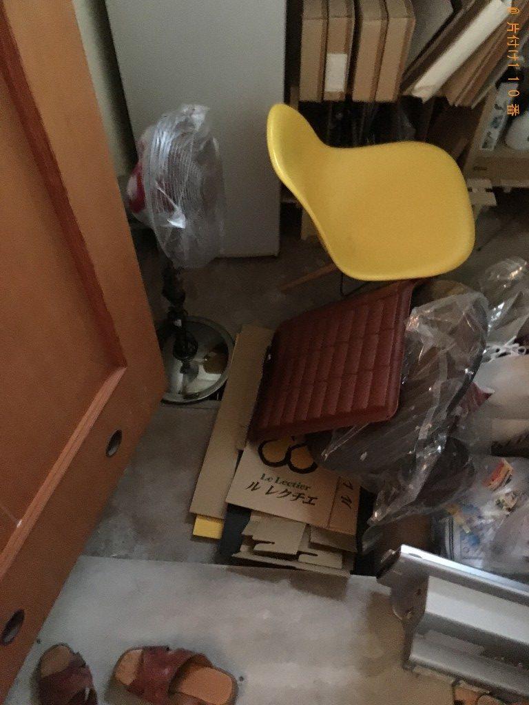 【新潟市中央区】マッサージチェア、椅子、扇風機等の回収・処分