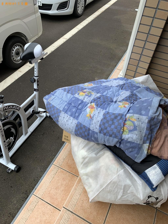 【長岡市】布団、スポーツ用品、小型家電等の回収・処分ご依頼