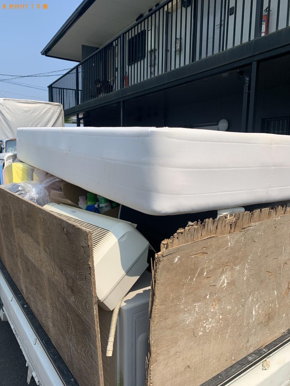 【新潟市】脚付きベッドマットレス、一般ごみ等の回収・処分ご依頼
