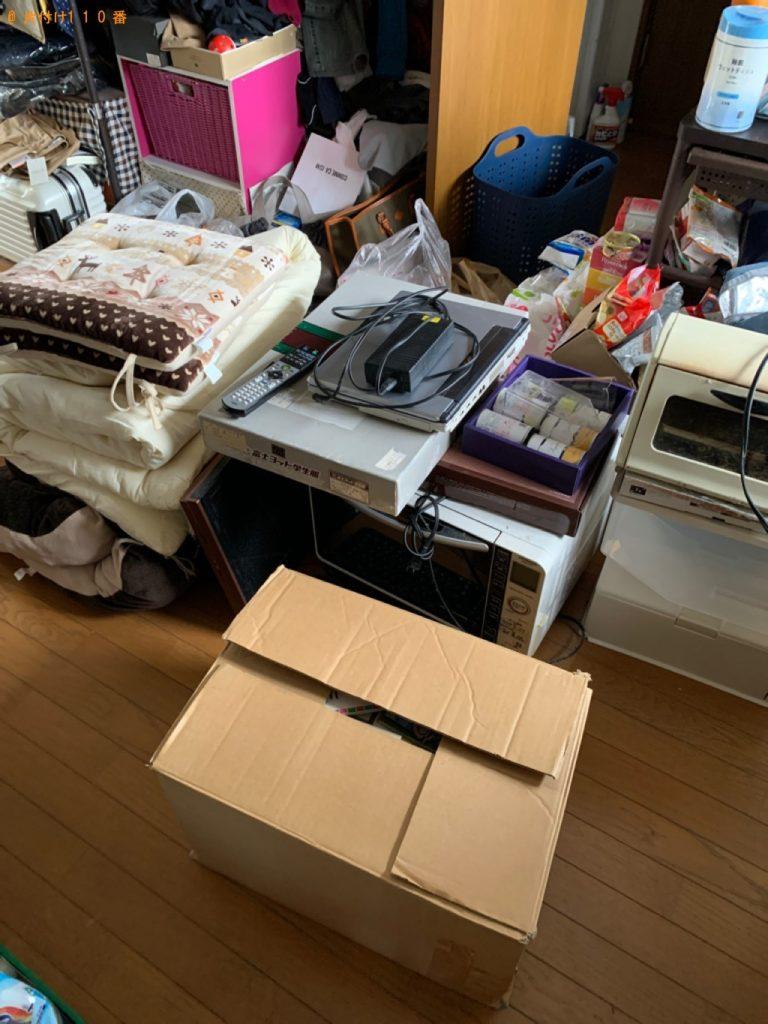 【長岡市】パソコン、米櫃、布団、小型家電、ベビー用品等の回収