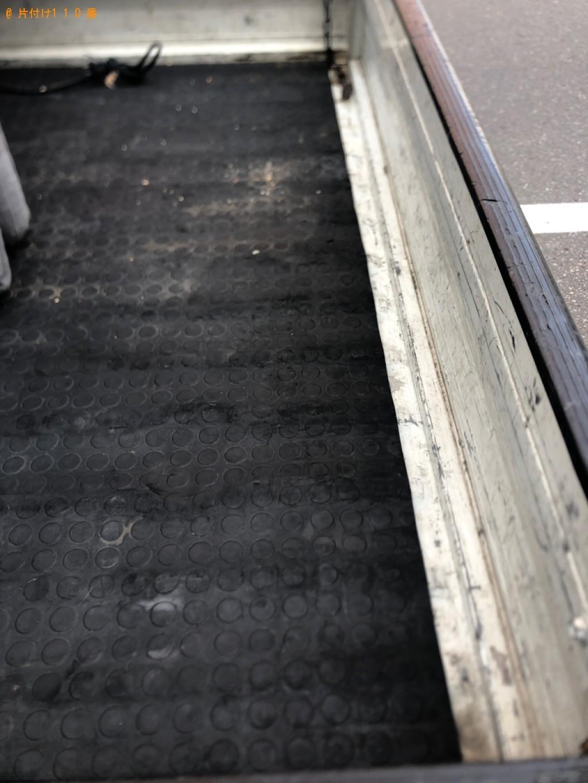 【新潟市】二人掛けソファー、電子レンジ、ガスコンロ等の回収・処分