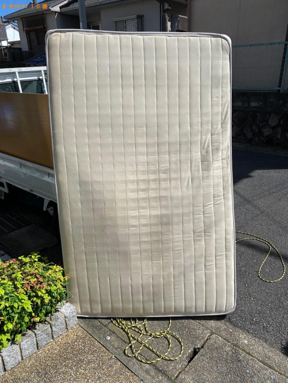 【新潟市】セミダブルマットレスの回収・処分ご依頼 お客様の声