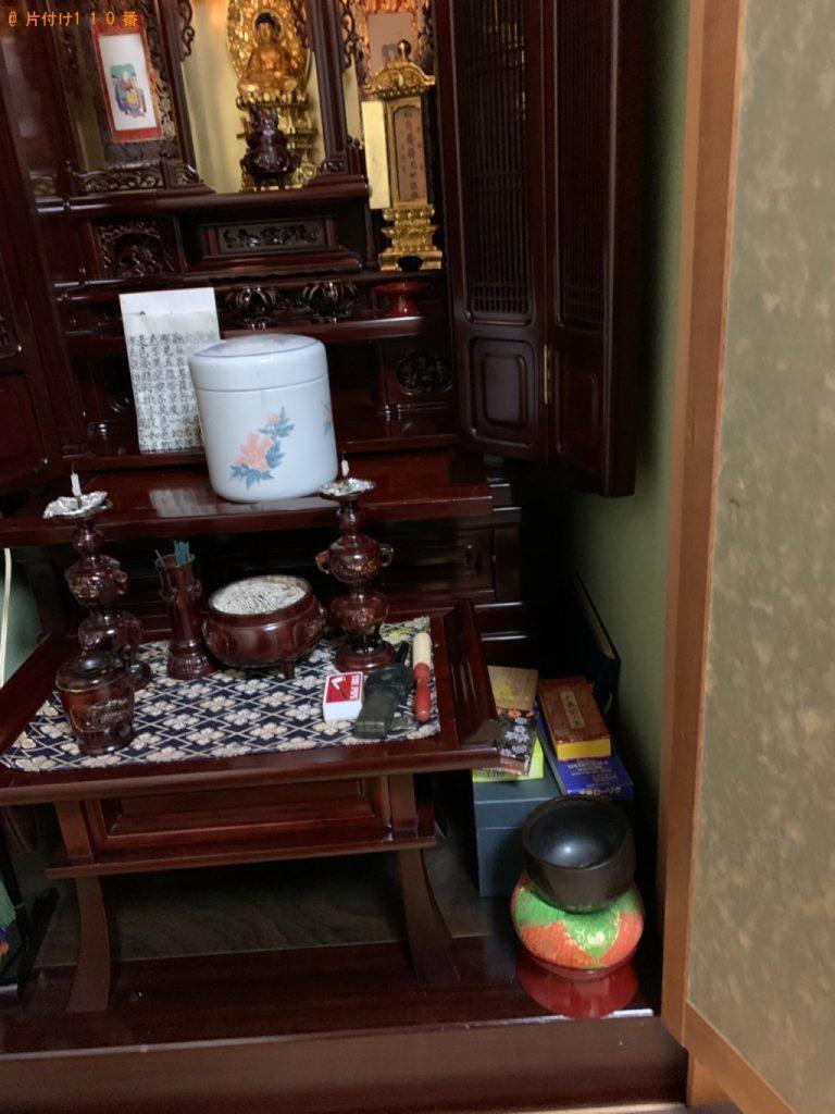 【新潟市】仏壇の回収・処分ご依頼 お客様の声