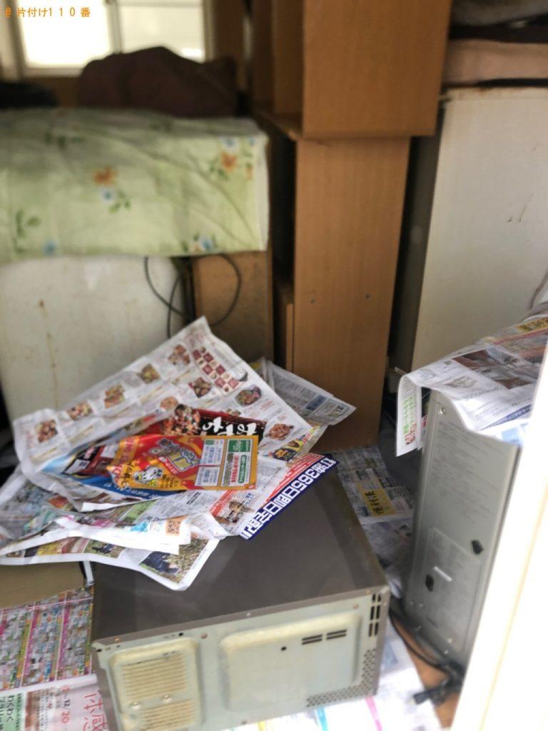 【新潟市】遺品整理に伴い冷蔵庫、テレビ、洗濯機、タンス、食器棚等の回収・処分