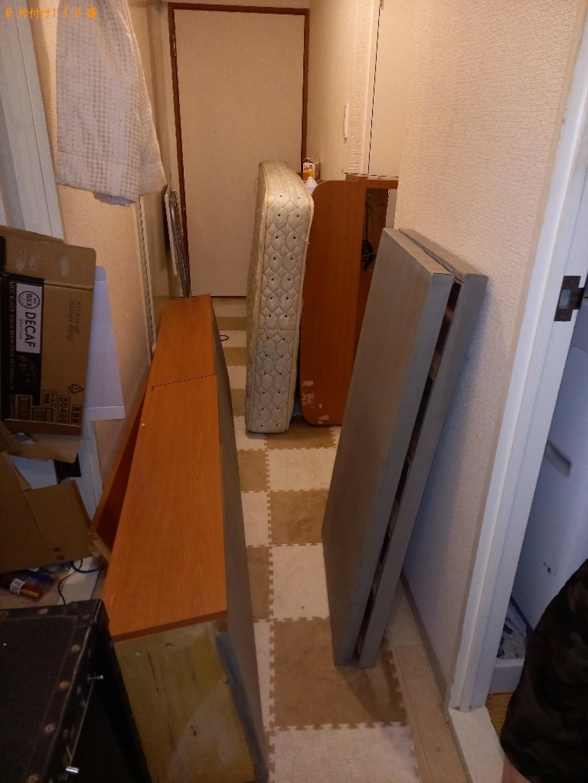 【新潟市】シングルベッド、ベッドマットレスの回収・処分ご依頼