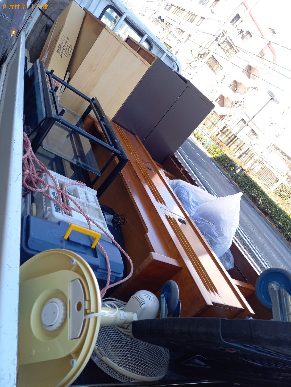 【新潟市】マッサージチェア、本棚、タンス、サイドボードの回収