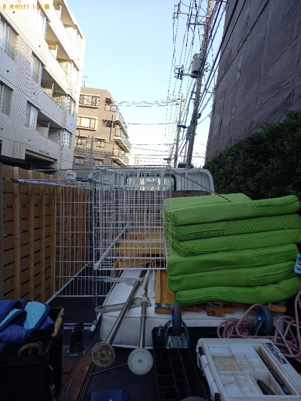 【新潟市】二段ベッド、ラックの回収・処分ご依頼 お客様の声