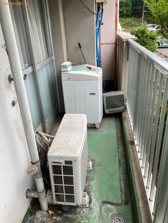 【新潟市】エアコン、テレビ、洗濯機、ガスコンロの回収・処分ご依頼