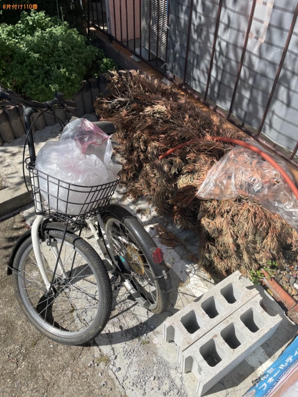 折り畳み自転車、木の枝、ブロックの回収・処分ご依頼 お客様の声